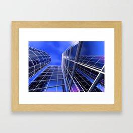 citylines -2- Framed Art Print