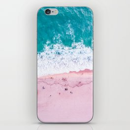 California coastline sand and surf iPhone Skin