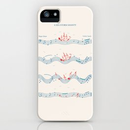 Nautical Notation iPhone Case