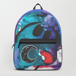 Black Moon Diptych (1 of 2) Backpack