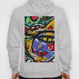 Wiggle Snickle Doodley Doo by Kathy Morton Stanion Hoody