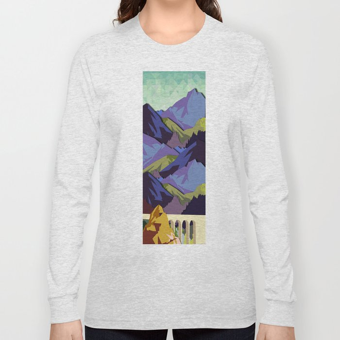 The Great, Great Night Mountain No. 10 Long Sleeve T-shirt