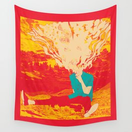 Mountain High Wall Tapestry