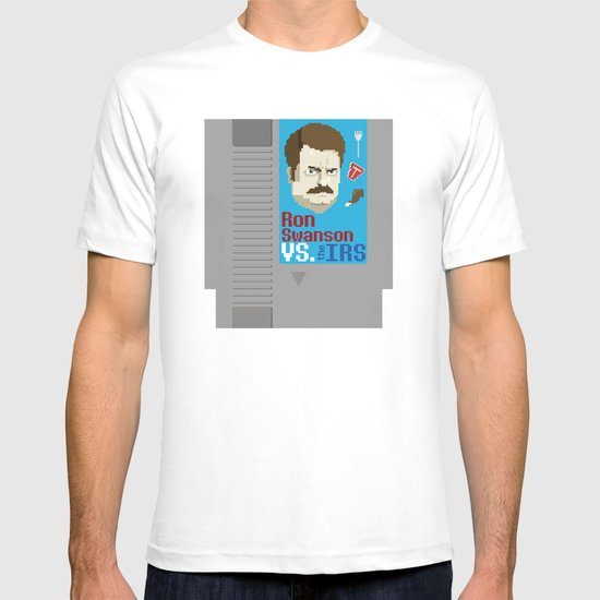 Ron Swanson VS. the IRS T-shirt