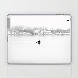 ice cold fishing Laptop & iPad Skin