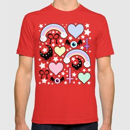 Pastel Goth Collage T-shirt