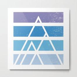Alpine sky Metal Print