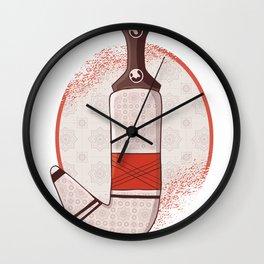 Arab dagger Wall Clock