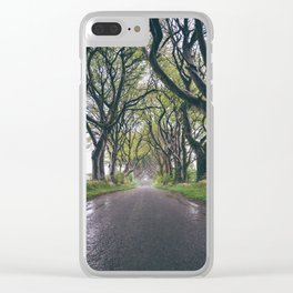 The Dark Hedges of Northern Ireland Clear iPhone Case