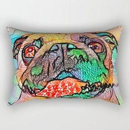 Pugicious Rectangular Pillow