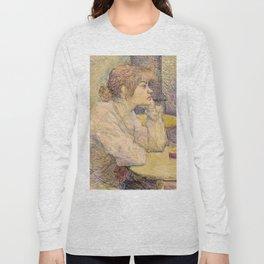"""Henri de Toulouse-Lautrec """"The Hangover (Suzanne Valadon)"""" Long Sleeve T-shirt"""