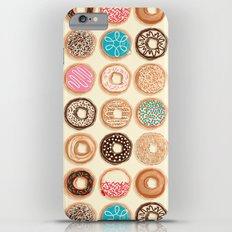 Doughnuts iPhone 6 Plus Slim Case