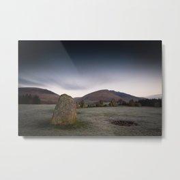 Castlerigg Stone Circle Metal Print