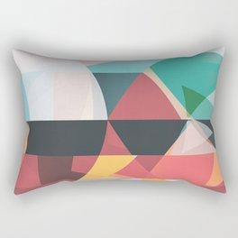 Between Fire and Air Rectangular Pillow
