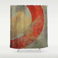 captain hook Shower Curtains featuring Captain by Fernando Vieira