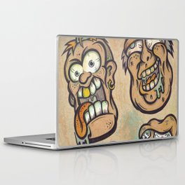 FOURHEADS ARE BETTER THAN ONE Laptop & iPad Skin