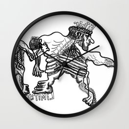 EiThEr Or LiMiTaTiOnS Wall Clock