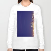 denver Long Sleeve T-shirts featuring Denver by Augustina Trejo