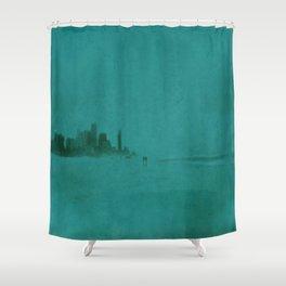 Gold Coast Shower Curtain