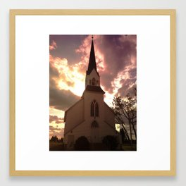 Atlanta Lutheran Church Framed Art Print