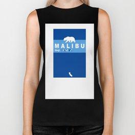 Malibu - California.  Biker Tank