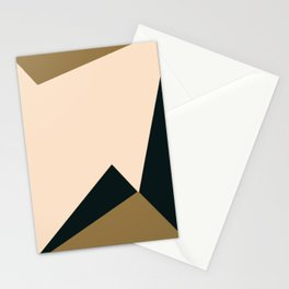 3- d light and dark Stationery Cards