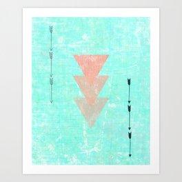 Color Me Aztec  Art Print
