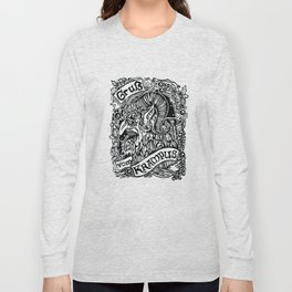 Gruss Vom Krampus Long Sleeve T-shirt