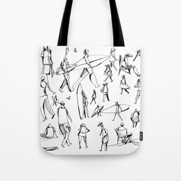 People Of the Beach : Short Sands, OR Tote Bag