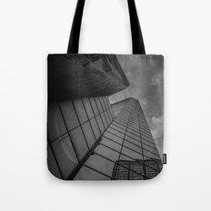 looking up; feeling grey... Tote Bag
