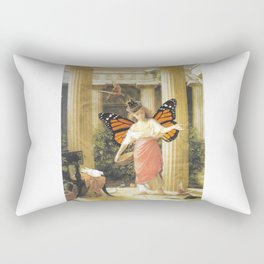 Birdfeeder Rectangular Pillow