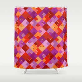 Poppy Colors for Fun Shower Curtain