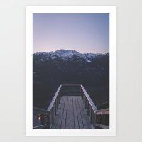 The Chief Overlook Art Print