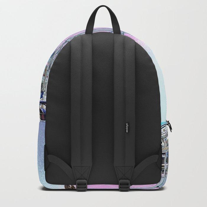 Stretching High Backpack
