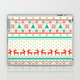 Festive Fair Isle Laptop & iPad Skin