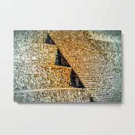 PATTERNS OF HISTORY Metal Print