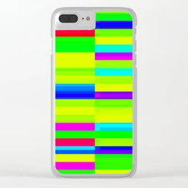 Chromoscope II ][ Overwhelming Expressions Clear iPhone Case