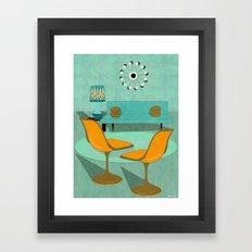 Room For Conversation Framed Art Print
