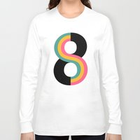 infinity Long Sleeve T-shirts featuring Infinity by Andy Westface