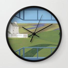 Corgraff Castle Wall Clock