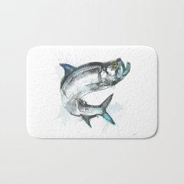 Tarpon Fish Bath Mat