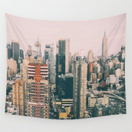 New York architecture 4 Wall Tapestry
