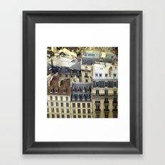 Paris Rooftop #2 Framed Art Print