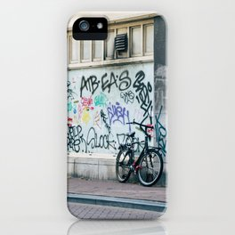 Streets of Amsterdam iPhone Case