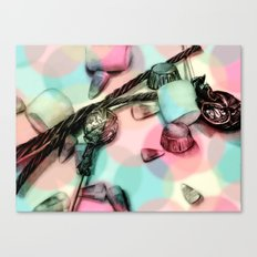 Candy Friday Night Canvas Print