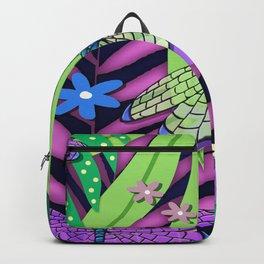 Fantasy Botanical LS Backpack