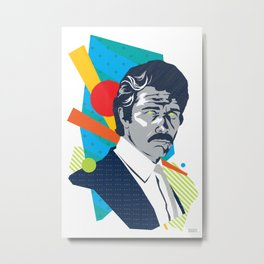 MARTY :: Memphis Design :: Miami Vice Series Metal Print