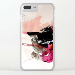 Day 32: Present conversations materialize then pass (like a fleeting Instagram post). Clear iPhone Case