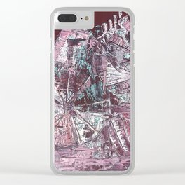 Coney Island Clear iPhone Case