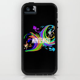 Pixel Splatoon iPhone Case